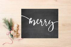 Chalkboard Merry Printable Art Print 8x10 Merry Christmas Decoration, Happy Holidays, Vintage, Faux Gold Foil Calligraphy, Winter Decor Christmas Chalkboard Art, Gold Foil, Printable Art, Happy Holidays, Merry Christmas, Christmas Decorations, Calligraphy, Art Prints, Winter