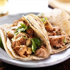 Recipe provided by NW Kidney Centers - Kickin' Chicken Tacos