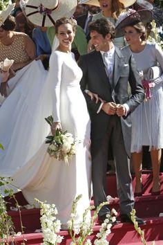 La boda de Eva y Cayetano, el evento foto a foto | TELVA