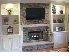 9 Skillful Clever Tips: Living Room Remodel With Fireplace Products small living room remodel basement bathroom.Living Room Remodel Before And After Fixer Upper living room remodel on a budget fractions.Living Room Remodel With Fireplace Light Fixtures. Above Fireplace Ideas, Fireplace Shelves, Fireplace Built Ins, Custom Fireplace, Home Fireplace, Fireplace Remodel, Living Room With Fireplace, Fireplace Design, Fireplace Mantels