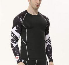 2391a43e90bec9 Feel good in the LONG SLEEVE COOL DRY COMPRESSION TOP! Check it out! Gym