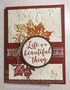 Creative Stampin' Spot: Everything Fall Stampin Friends Blog Hop