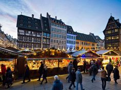 Dating back almost 450 years, Strasbourg is home to the oldest of France's Christmas markets. There ... - Getty Images