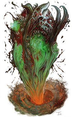 Shoggoth by Corbella on DeviantArt