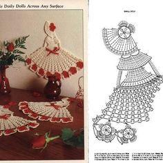 Esquemas da Cris: Boneca Em Crochet...