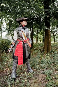 Aveline de Granpre Assassins Creed Liberation Cosplay (Nix Nox Cosplay), photo by Ron Gejon Photography.