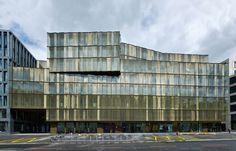 Zürich, Switzerland EUROPAALLEE 21. Lagerstrasse House Gigon / Guyer Architekten