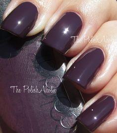 CND Dark Amethyst---I LOVE dark purple colors :)