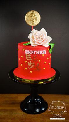 Longevity cake for mother