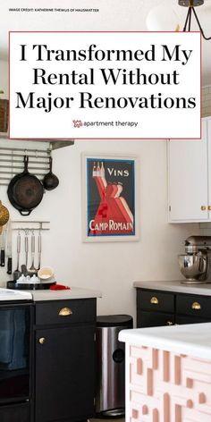 I transformed my rental without major renovations. #rentershacks #rental #rentalapartment #apartmentmakeover #hometransformation #renterssolutions