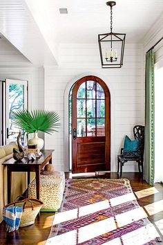Southern living at home wall decor fabulous foyer decorating ideas southern living vintage clothes line tile . southern living at home wall decor Home Design, Design Entrée, Flur Design, Design Ideas, Lobby Design, Nail Design, Design Projects, Design Elements, Design Trends