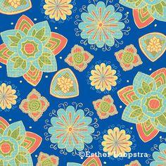 India Lotus Surface Design patterns on Behance
