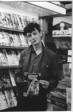 Rowland S. Howard with Agnès Michaux and Anton Lenoir's Death Is a Star Nick Cave, Rowland S Howard, Combat Rock, Celebrities Reading, Human Reference, The Bad Seed, Aesthetic People, New Romantics, Joan Jett