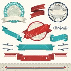 French Design Element Royalty Free Stock Vector Art Illustration
