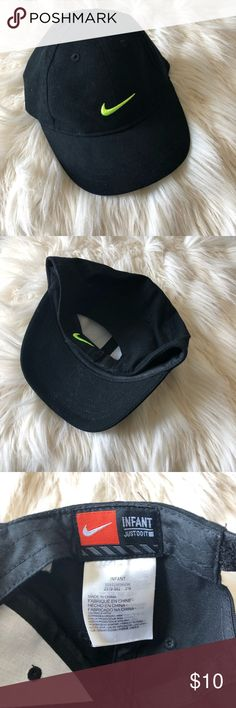 Nike Infant 🧢 Hat is in awesome condition.  Our infant attempted to wear it once but wouldn't wear it. Velcro back. Nike Accessories Hats