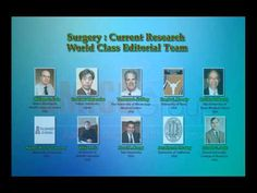 Surgery:Current Research focuses on recent surgical techniques that are evolving to aid the clinicians, physicians and surgeons for treatment. The Journal is promptly available, and is freely accessible globally through internet to share the innovations of the researchers for scholarly advancement in this field.