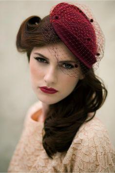 Vintage red. Stunning!