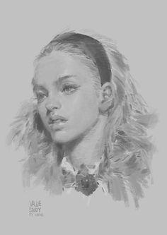 Secrets Of Drawing Most Realistic Pencil Portraits - - メディアツイート: KrenzCushart Portrait Sketches, Pencil Portrait, Portrait Art, Art Sketches, Art Drawings, Figure Drawing, Painting & Drawing, Oeuvre D'art, Art Tutorials