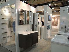 Sonia bath vanity on display at ICFF 2012.