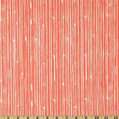 Premier Prints Scribble Stripe Coral from @fabricdotcom  Screen printed on cotton duck; this versatile medium weight fabric is perfect for window accents (draperies, valances, curtains and swags), accent pillows, duvet covers and upholstery. Create handbags, tote bags, aprons and more. *Use cold water and mild detergent (Woolite). Drying is NOT recommended - Air Dry Only - Do not Dry Clean. Colors include coral orange and white.
