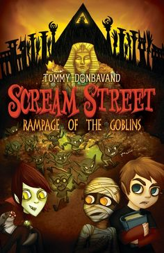 Life on Scream Street is becoming unbearable, and Luke, Resus, and Cleo must speed up their quest to save the street. Destination number three: Egypt, land of the pharaohs. The trio's troubles, however, appear to be following them. With a shoal of vicious scaremaids to deal with and an ancient curse looming, there's only one thing that could make things worse . . . those pesky goblins! 9780763657628/8-12 years