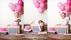 1st birthday photo shoot ideas