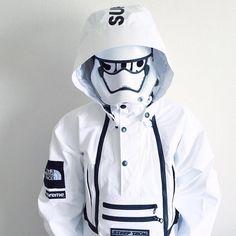 Supreme trooper. #supreme #starwars : @miho_umeboshi