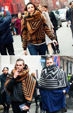 Louis Vuitton Scarf and Jacket @Jamala Edwards Nilsen Johns
