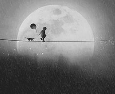 catwalk to the moon