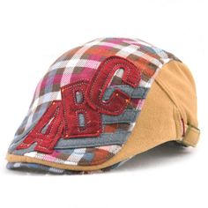 Good-quality Kids Boys Girls Cotton Grid Plaid Letter Cute Berets Hat Patch Flat Cap Casual Outdoor Visor Gorras is cheap, see more kids hats on NewChic. Flat Hats, Hat Patches, Girls, Boys, Kids Hats, Boy Or Girl, Baseball Hats, Plaid, Berets