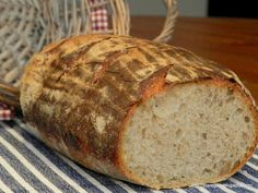 Chleb pszenny z Vermont na zakwasie Hamelman'a | Stare Gary Our Daily Bread, How To Make Bread, Bread Recipes, Food And Drink, Baking, Vermont, Eat, Noodle, Mario