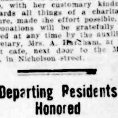 09 Jul 1932 - Departing Residents Honored - Trove