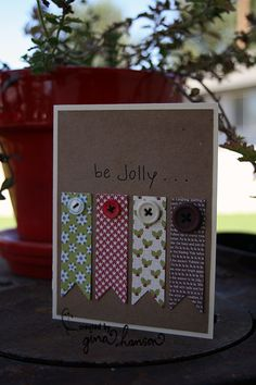 Cute and easy Christmas cards