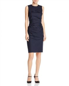 785.00$  Watch here - http://vixvi.justgood.pw/vig/item.php?t=ow73hob19104 - PAULE KA Ruched Sheath Dress