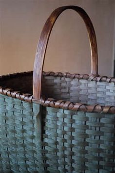 Blackash Baskets - another great basket that would be good for carrying vegetables from the garden. In the house, it could hold rolls of toilet paper or washcloths and towels.