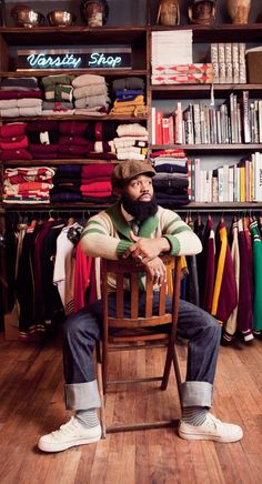 Ouigi Theodore the creative director at one of my all time favorite stores Brooklyn Circus.