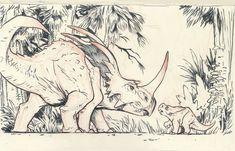 Styracosaurus by JakeParker