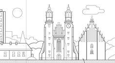 Line Illustrations on Behance
