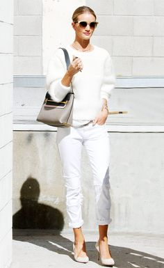 12 Rosie Huntington-Whiteley Outfits You'll Want to Copy Straight Away via @WhoWhatWearUK