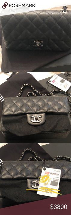 95ccdb8fb0e9 Chanel mini rectangular never been used 18c Comes with receipt and box  price negotiable RHUTHENIUM C18
