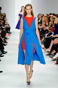 See all the Dior #PFW show pictures http://uk.bazaar.com/OJWb0Z