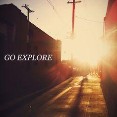 GO Explore / Jennifer Chong @jchongdesign on #instagram