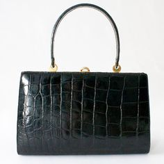 BIRK'S CROCODILE PURSE
