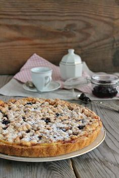 crostata amalfitana Cupcakes, Cake Cookies, Torte Cake, Great Desserts, Biscotti, Summer Recipes, Italian Recipes, Nutella, Cheesecake