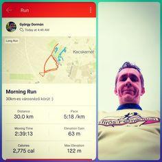 Reggeli 30km-es városnézés.  Elérkeztem a 3. szintre.  Februárban még 16km-el kell megtolnom... . . . #running #runningman #earlymorning #runninginspiration #motivation #healthylifestyle #30k #30kchallenge #dxn #cordyceps #hungary Morning Running, How To Run Longer, Healthy Life, Healthy Living