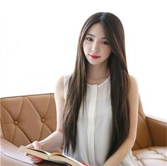 Synthetic Lace Front Wig Heat Resistant Straight 70 cm Long Brown Black Hair #Unbranded #StraightKoreanStyle