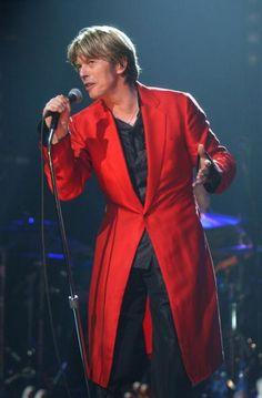 David Bowie, London, 2002
