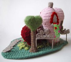 A Heart Mansion! Pic OBESE!!! 13 large pics! - CROCHET