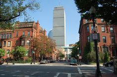 Boston, Comm Ave facing Prudential Building.   #NikonD50