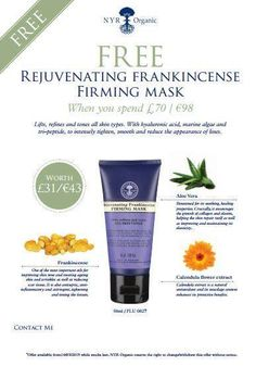 Free with all purchases over £70